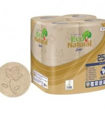 New generation of 100% recycled paper, made from recycled beverage cartons