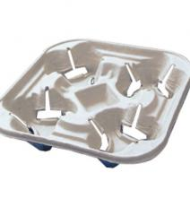 4 CUP CARRIER FRISBY