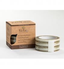 Klebio, 3 - inch tape, 4 boxes with 2 rolls each in a box