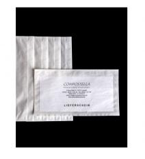 Delivery note envelope for DIN long, back self-adhesive